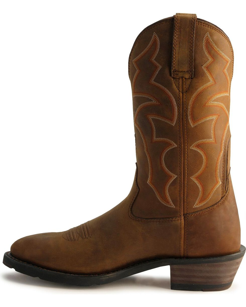 Ariat Ironside Waterproof Pull-On Work Boots - Soft Toe, Dusty Brn, hi-res