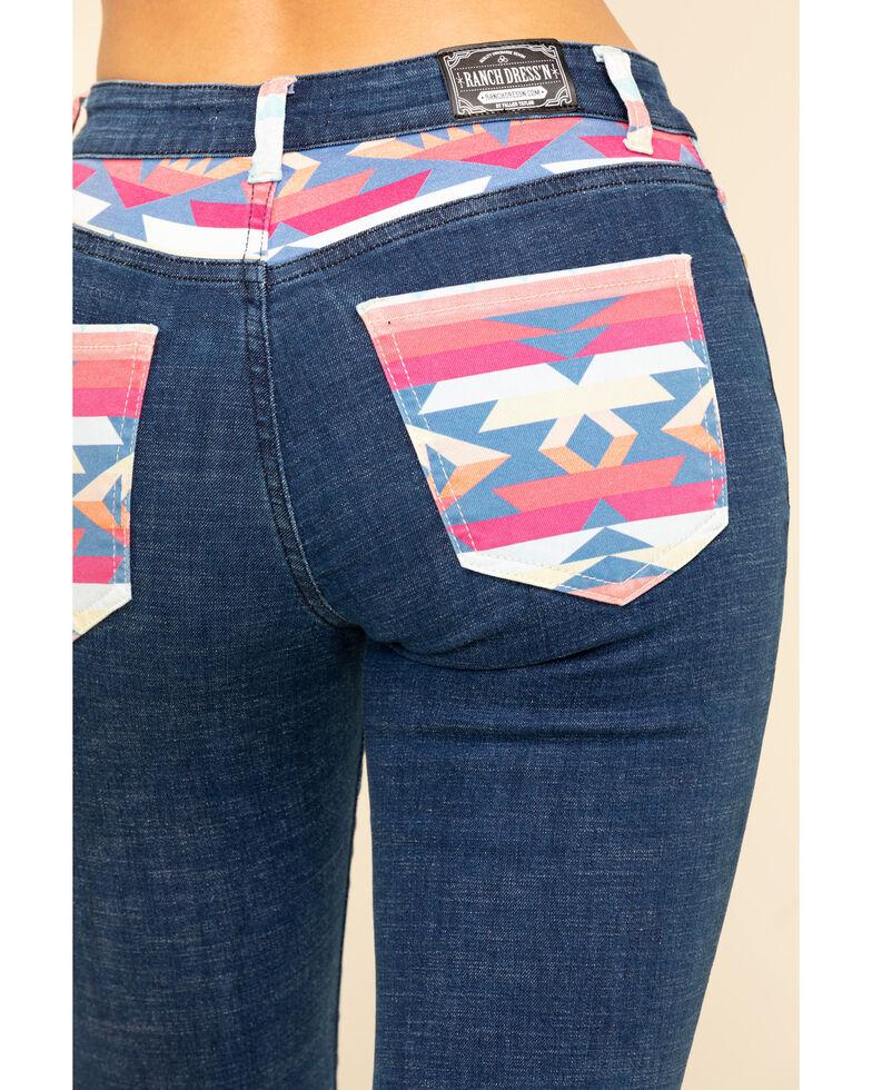 Ranch Dress'N Women's Mesa Bootcut Jeans - Plus, Blue, hi-res