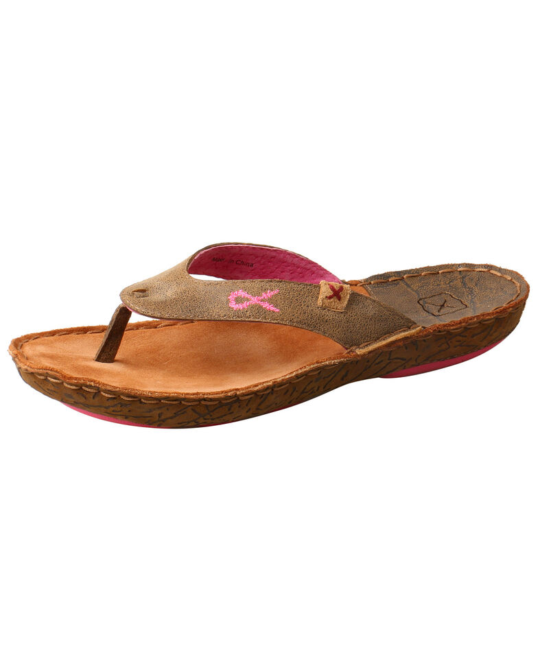 5e0798ad9bf6 Twisted X Women s Hand Stitched Sandals - Country Outfitter
