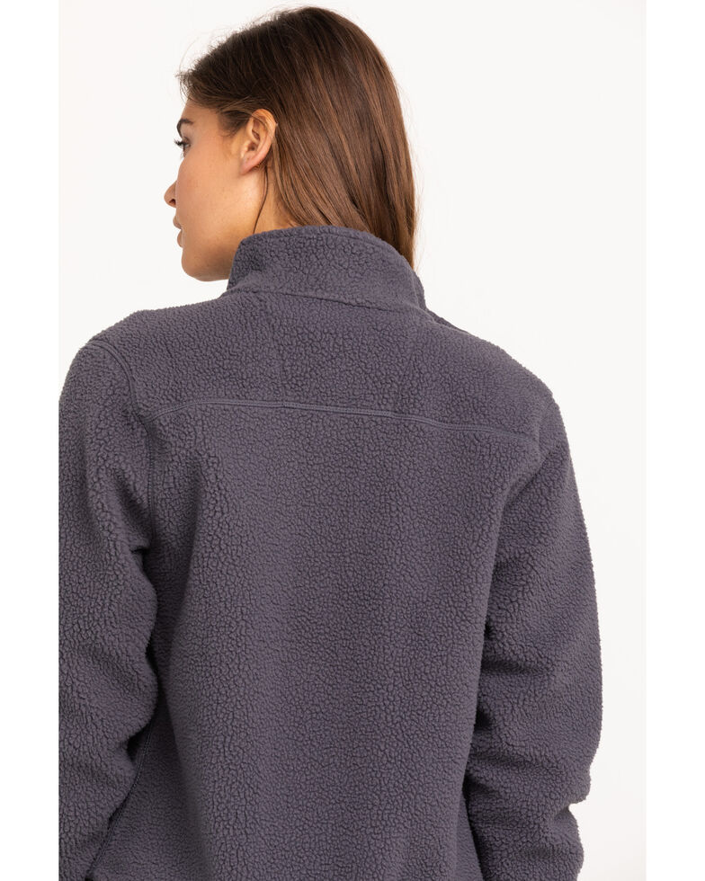 Carhartt Women's High Pile Fleece, Grey, hi-res