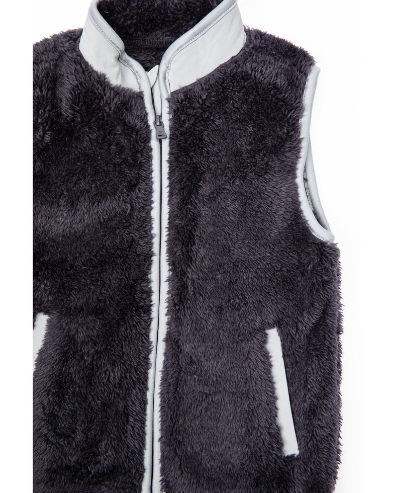 Cody James Toddler Boys' Yellowstone High Pile Fleece Vest , Navy, hi-res