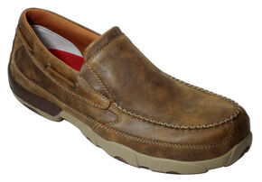 a63f2bc733630 Twisted X Men's Leather Driving Moc - Composite Toe