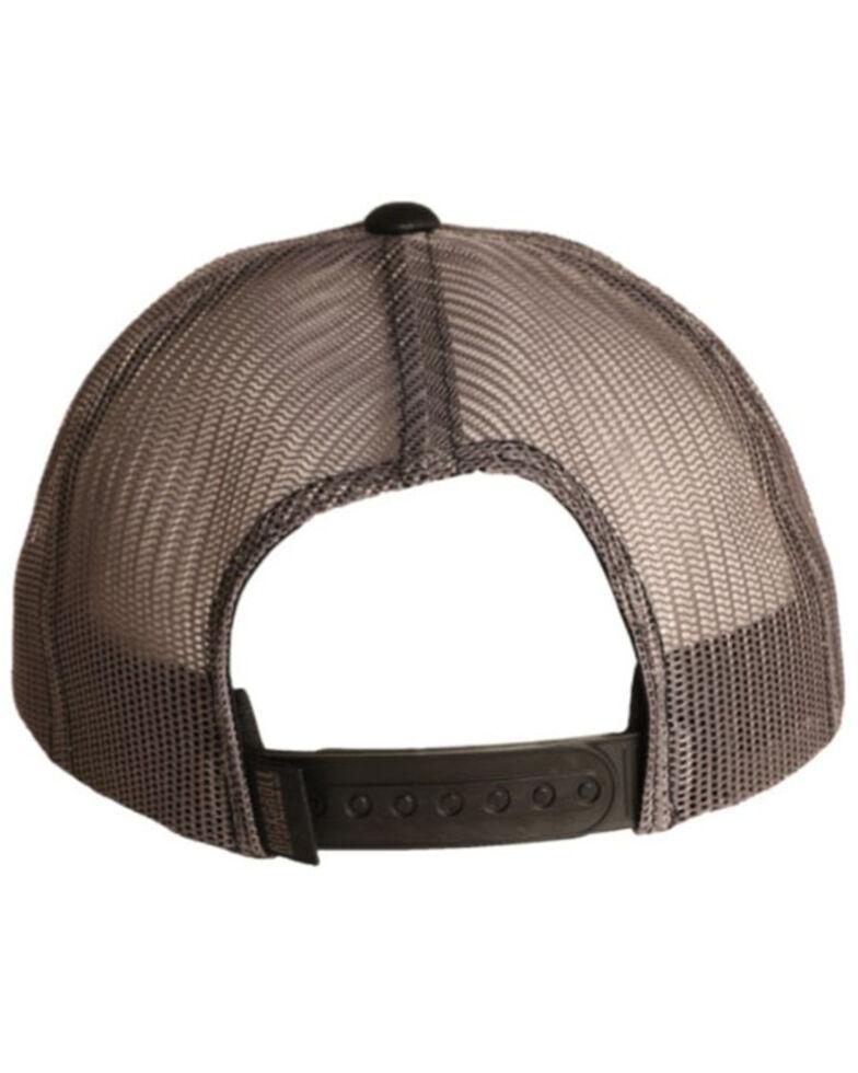 Rock & Roll Denim Men's Tuff Hedeman Logo Mesh-Back Ball Cap , Black, hi-res