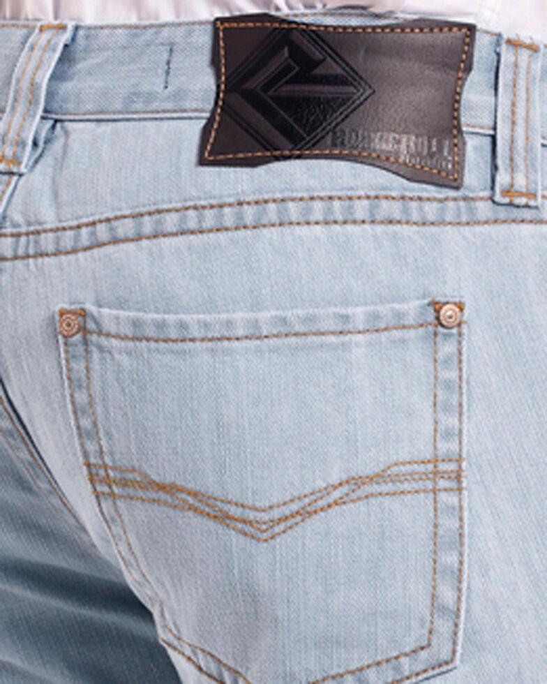 Rock & Roll Cowboy Men's Blue Revolver Jeans - Straight Leg , Blue, hi-res