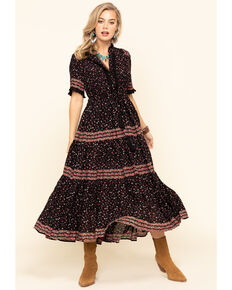 Free People Women's Rare Feeling Dress, Black, hi-res
