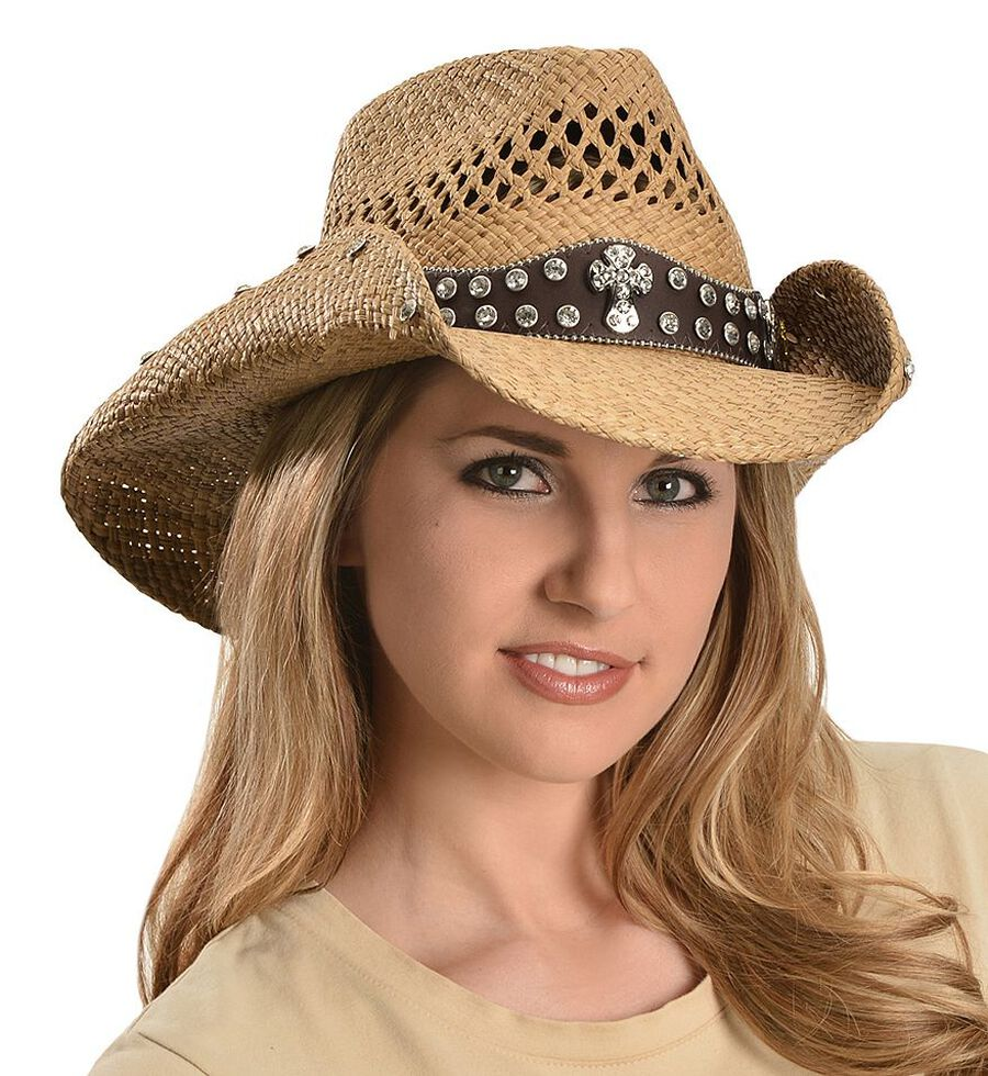 a1a1155563c18 Bullhide More Than Words Panama Straw Cowgirl Hat - Country Outfitter