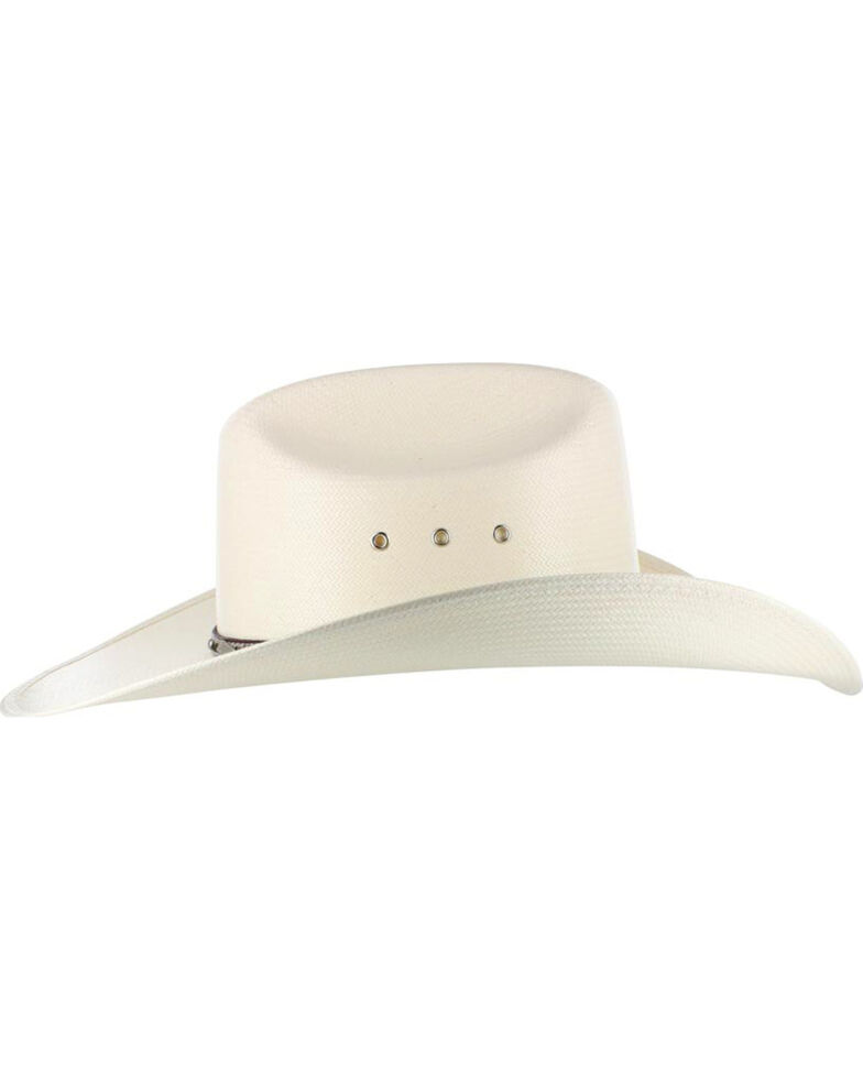 Larry Mahan Men's 10X Brindle Straw Hat, , hi-res