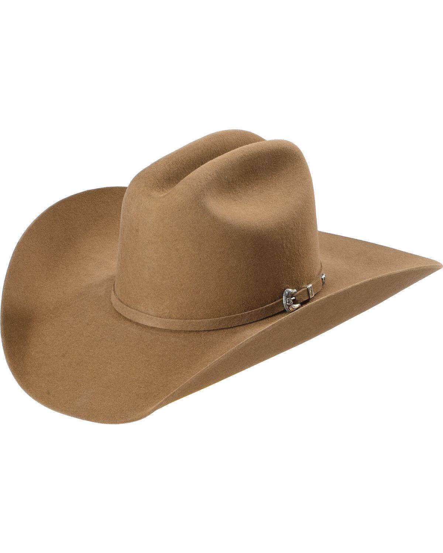 f1543423988 ... justin bent rail 7x bullet fur felt cowboy hat pecan hi res