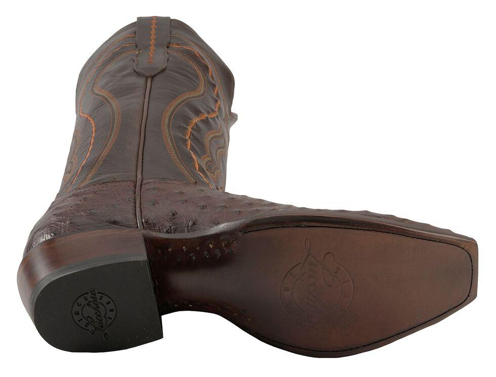 1bee1d29eb4 Lucchese Men's Handmade 1883 Montana Western Full Quill Ostrich Cowboy  Boots - Snip Toe