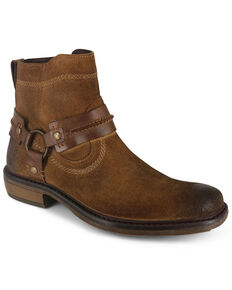 Evolutions Men's Humbolt II Zipper Boots - Square Toe, Tan, hi-res