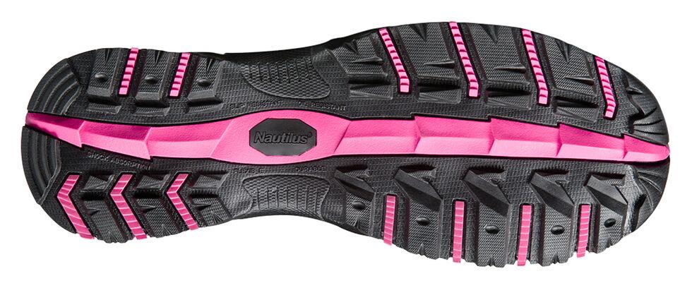 Nautilus Nylon and Mesh Athletic Work Shoes - Composite Toe, Grey, hi-res
