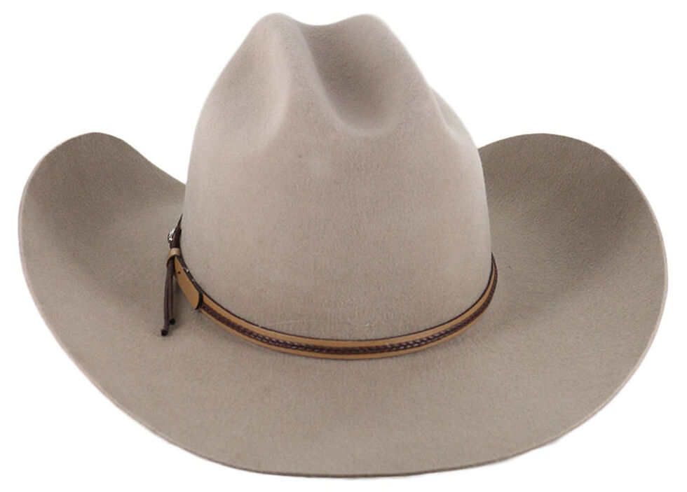Cody James Denton 3X Pro Rodeo Brim Felt Cowboy Hat, Tan, hi-res