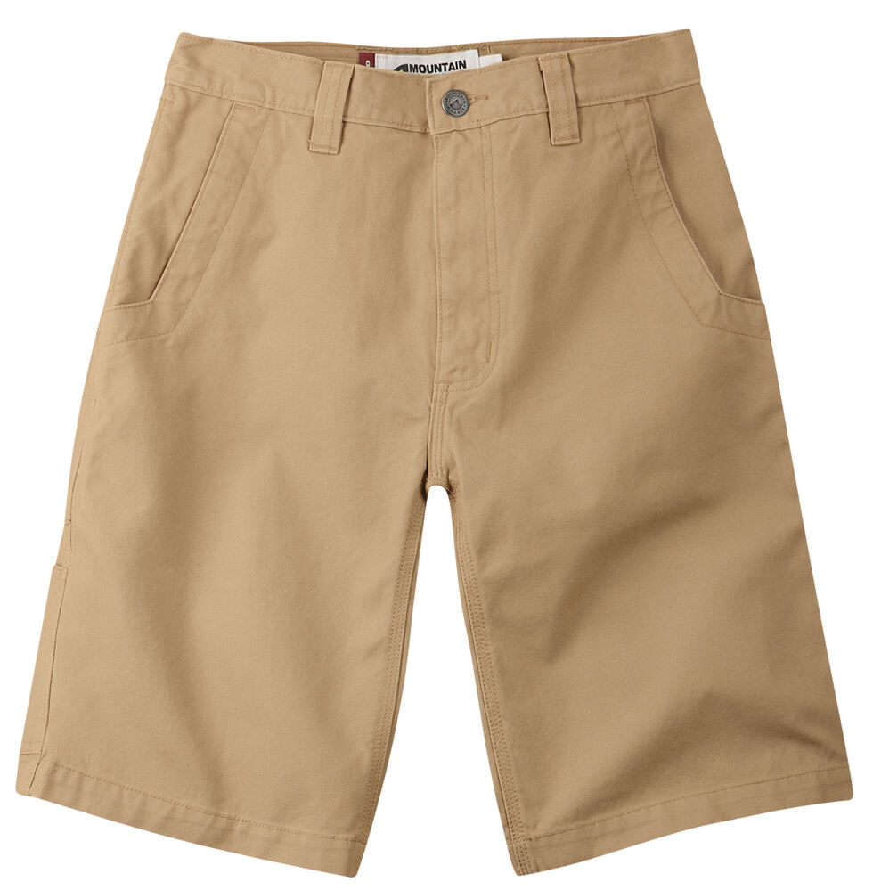 "Mountain Khakis Men's Alpine Relaxed Fit Utility Shorts - 7"" Inseam, Tan, hi-res"