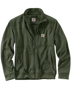 Carhartt Men's Workman Work Jacket, Moss, hi-res