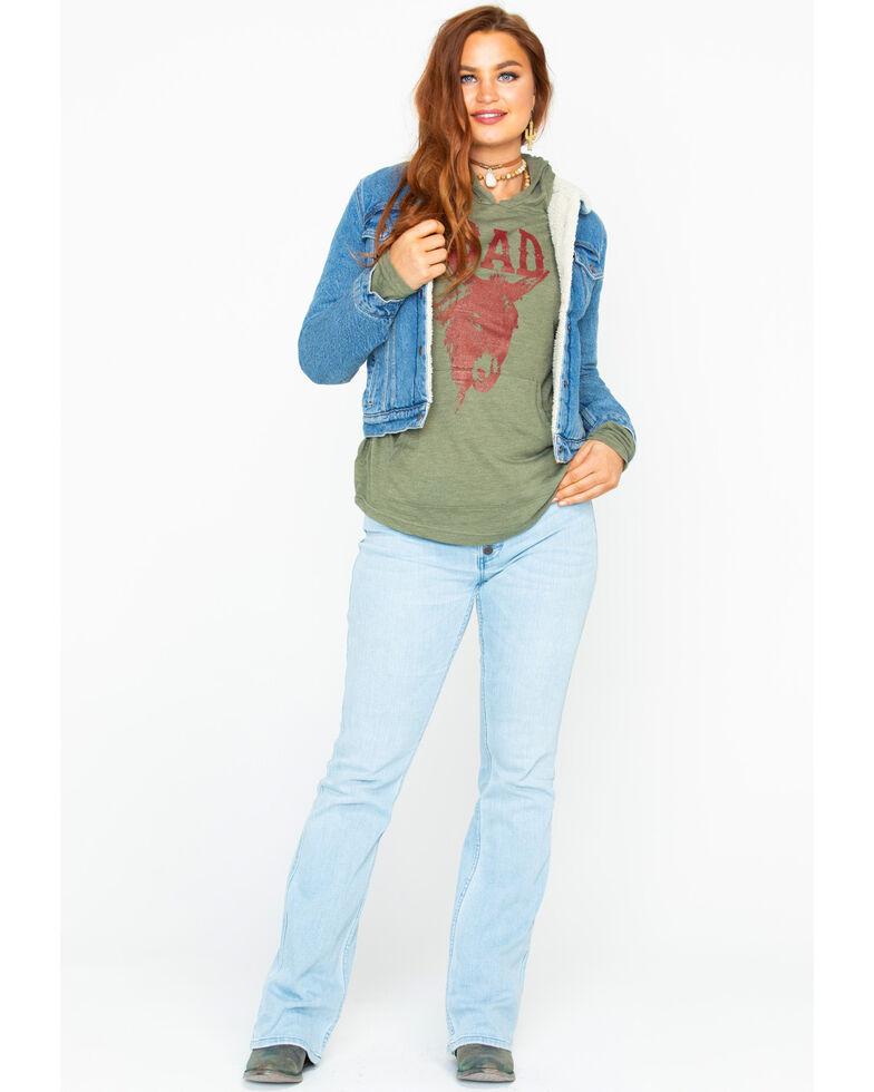 Levis Women's Light Sherpa Denim Jacket , Blue, hi-res