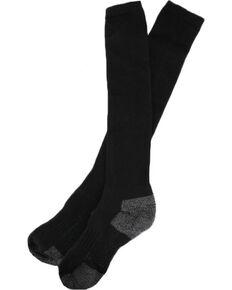 Boot Barn® Men's Western Boot Socks, Black, hi-res