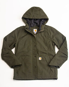 Carhartt Women's Full Swing Cryder Jacket , Olive, hi-res