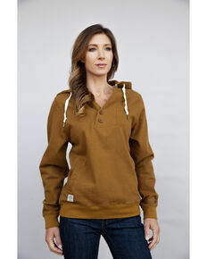 Kimes Ranch Women's Mocha Private Idaho Hoodie, Brown, hi-res