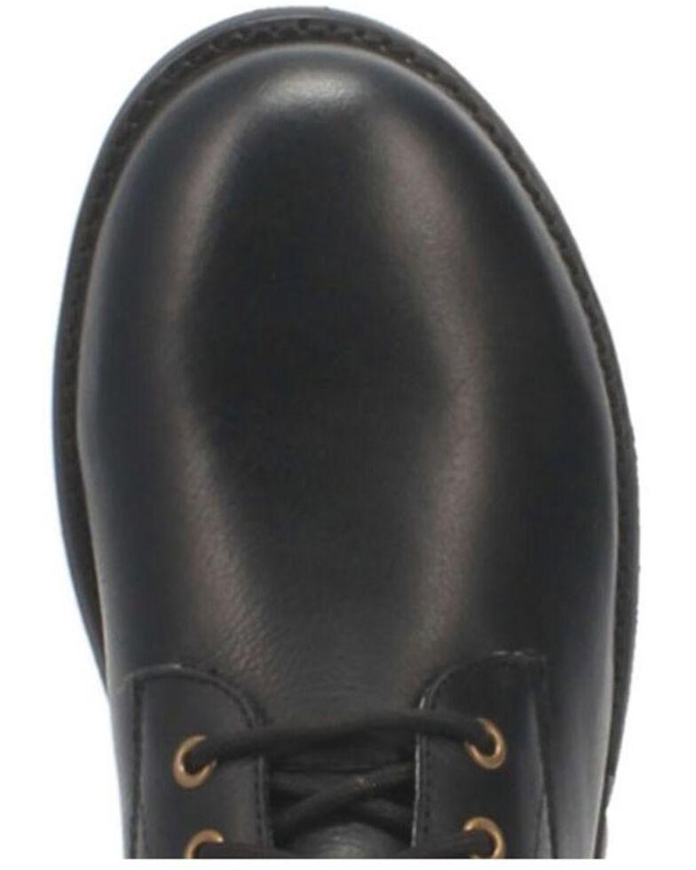 Dingo Men's Blacktop Lace-Up Boots - Round Toe, Black, hi-res