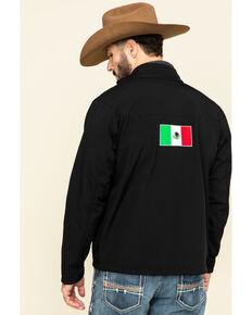 Ariat Men's Black Mexico New Team Softshell Jacket , Black, hi-res