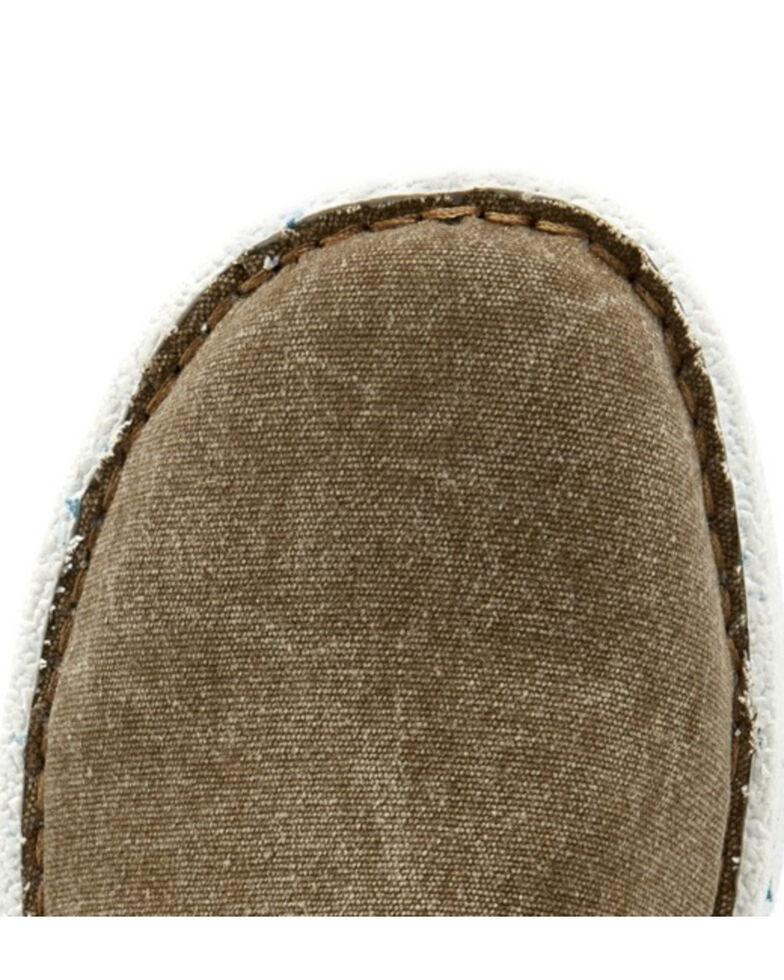 Justin Women's Cac-Tie Khaki Shoes, Tan, hi-res