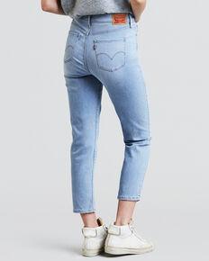 Levi's Women's Sea Daisy Drive Classic Crop Jeans - Cropped Leg, Indigo, hi-res