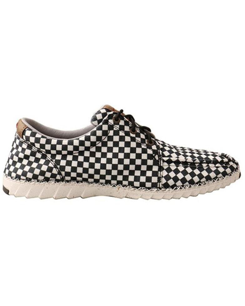 Twisted X Men's Zero X Casual Shoes - Moc Toe, Black/white, hi-res