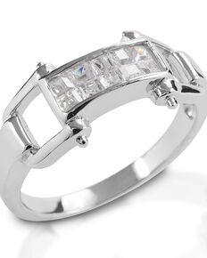 Kelly Herd Women's Wide Bit Ring , Silver, hi-res