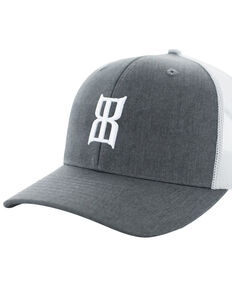 Bex Men's Heather Steel Mesh Baseball Cap, Heather Grey, hi-res