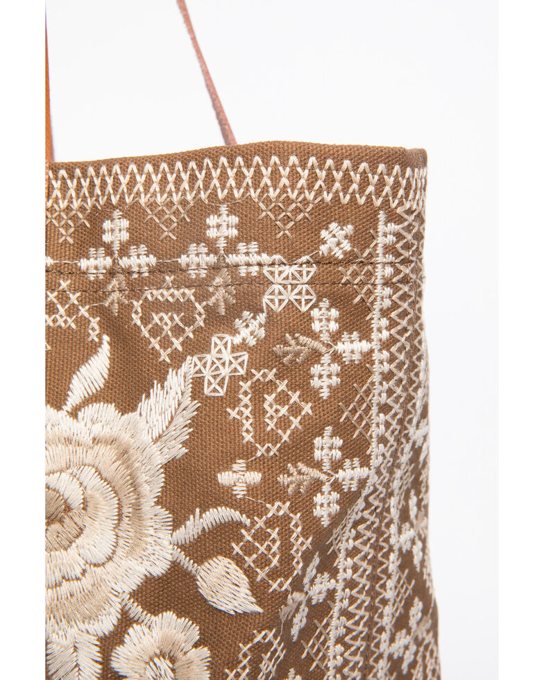 Johnny Was Women's Taupe Lane Everyday Tote, Taupe, hi-res