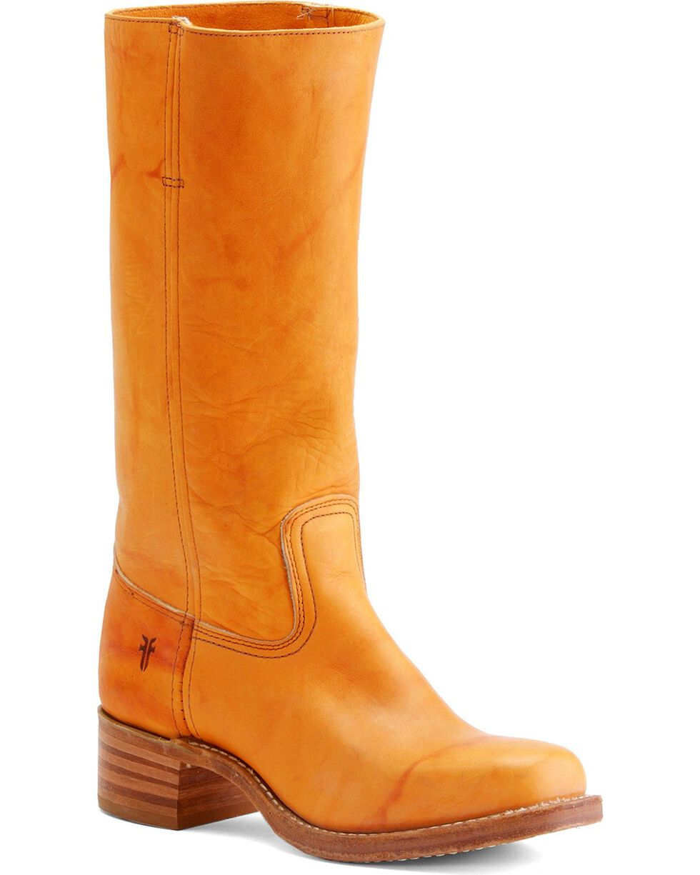 Frye Women's Campus 14L Boots - Square Toe, Sunrise, hi-res