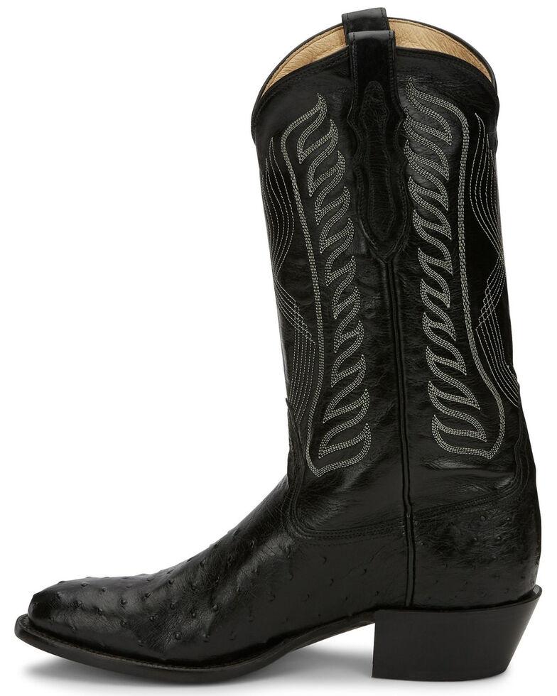 Tony Lama Men's Black McCandles Western Boots - Round Toe, Black, hi-res