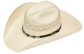 d8aa4ba85ebb4 Twister 10X Shantung Star Concho Band Straw Cowboy Hat