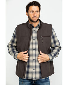Cody James Core Men's Brown Rightwood Bonded Vest , Brown, hi-res