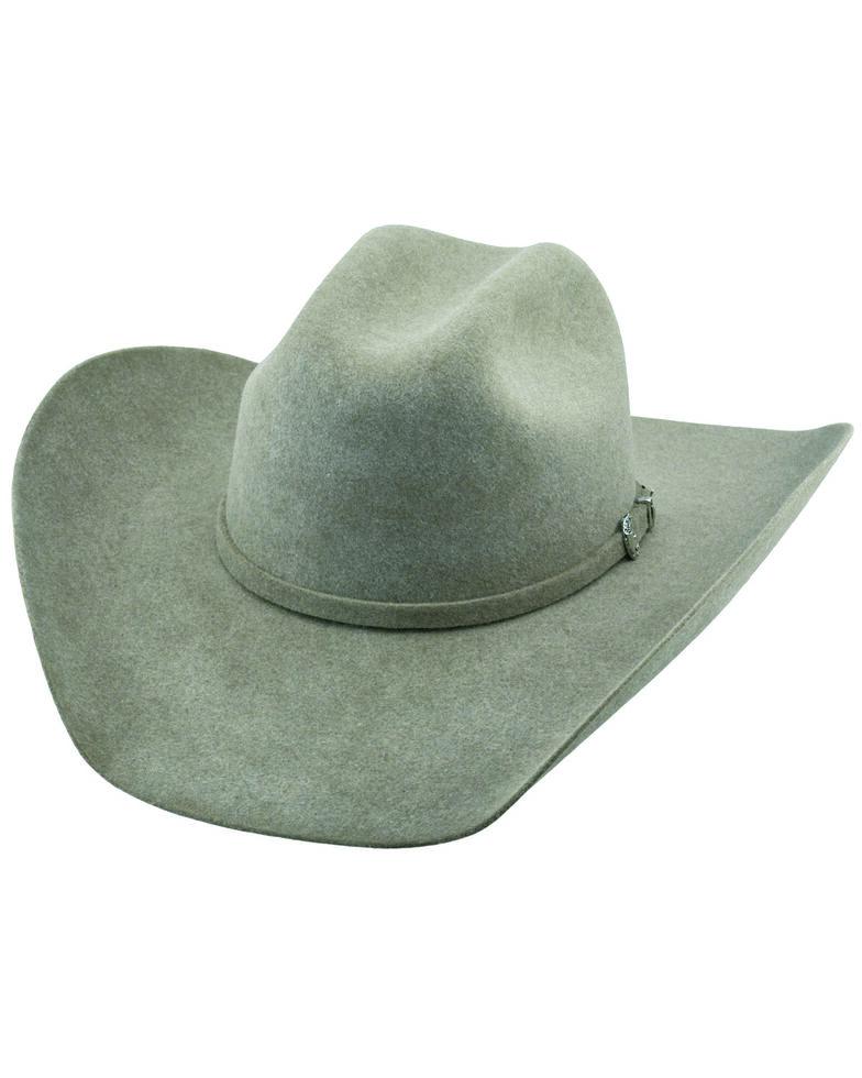 Justin Men's 6X Natural Kermit Western Felt Hat , Natural, hi-res