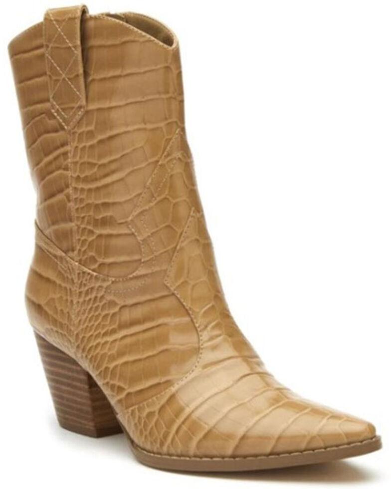 Matisse Women's Bambi Fashion Booties - Pointed Toe, Natural, hi-res