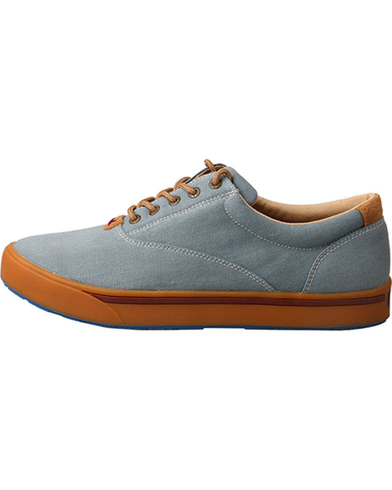 a1a711422f3 Hooey Lopers by Twisted X Men s Blue Canvas Shoes - Country Outfitter