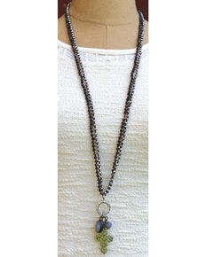 InspireDesigns Women's Silver Cloud Nine Convertible Necklace , Silver, hi-res