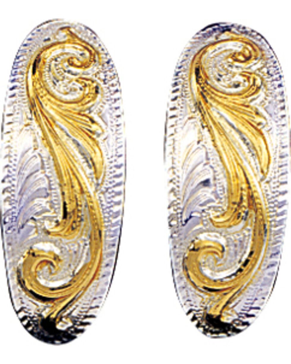 Montana Silversmiths Small Scroll Cuff Earrings, Multi, hi-res