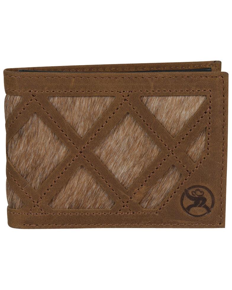 HOOey Men's Brindle Inlay Bifold Wallet, , hi-res
