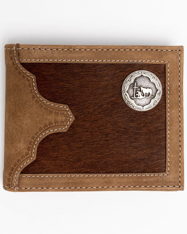 Cody James Mens Praying Cowboy Tri-Fold Leather Wallet 985414408