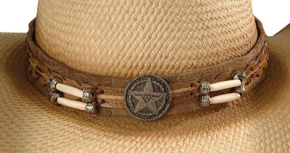 Bullhide Dundee Straw Cowboy Hat, Natural, hi-res