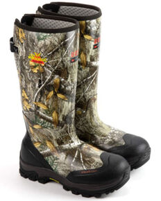 Thorogood Men's Infinity Camo Waterproof Work Boots - Soft Toe, Camouflage, hi-res