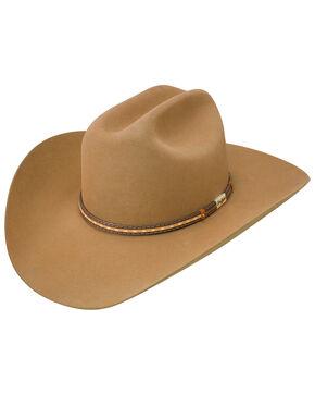 George Strait by Resistol Men's Clay Creek 6x Felt Cowboy Hat, Chestnut, hi-res