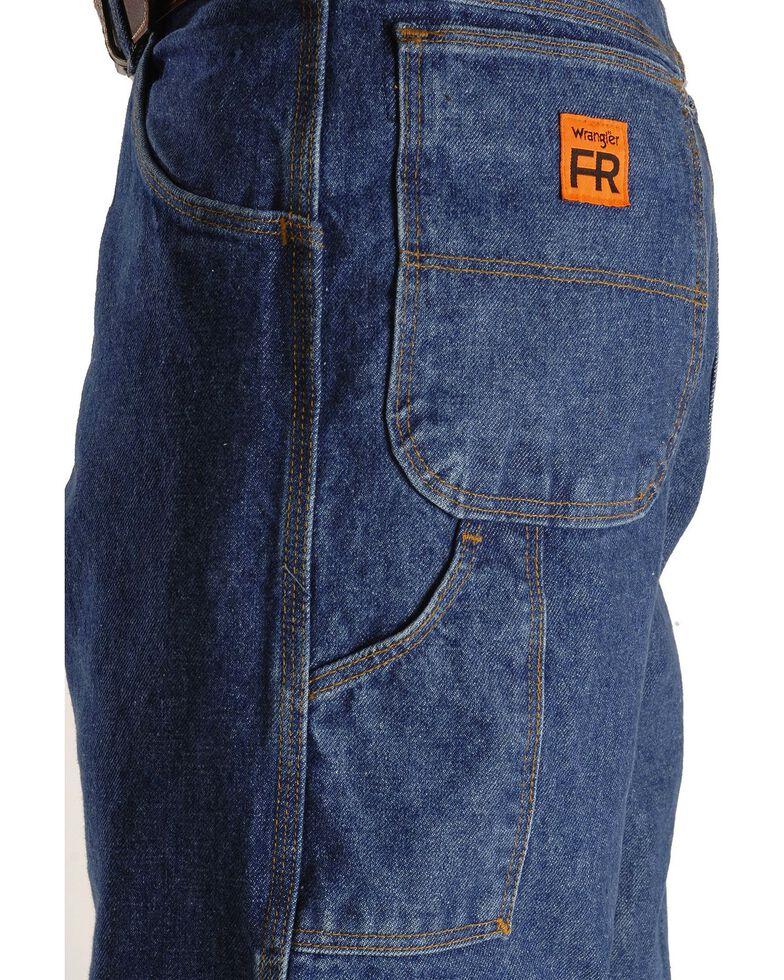 Wrangler Riggs Men's FR Carpenter Relaxed Fit Work Jeans , Indigo, hi-res