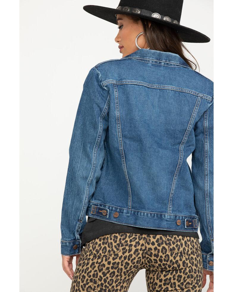Wrangler Modern Women's Denim Jacket, Indigo, hi-res