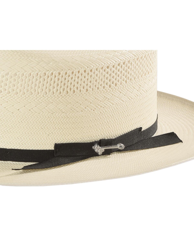 Stetson Men/'s White Shantung Open Road Hat SSOPRD-0526