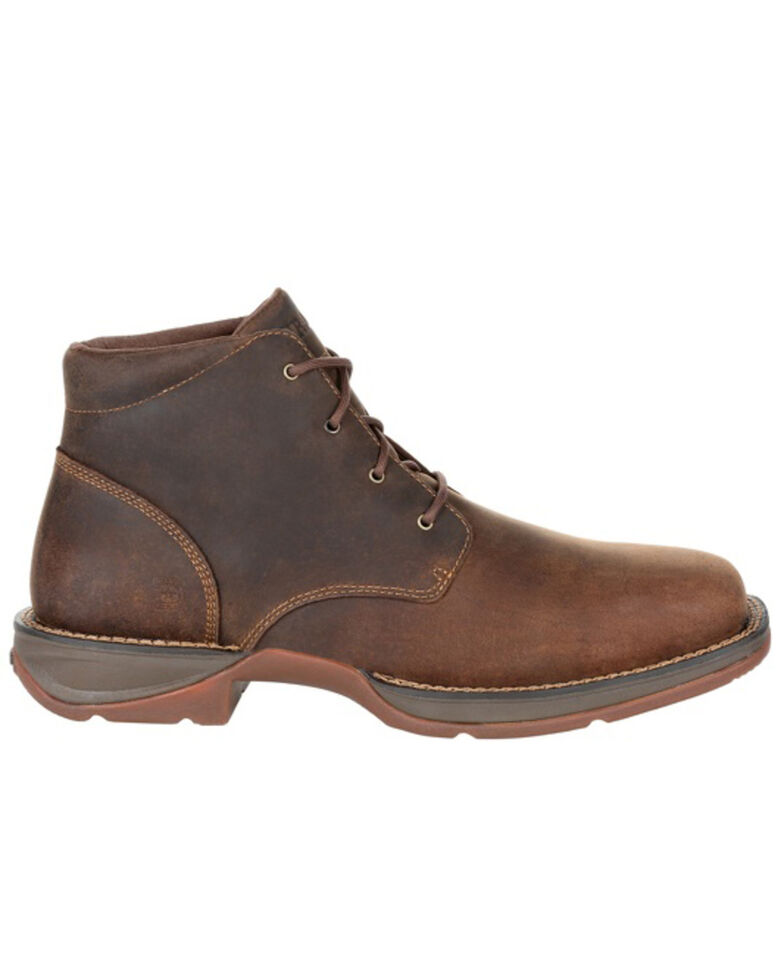 Durango Men's Dirt Rebel Chukka Boots - Square Toe, Medium Brown, hi-res