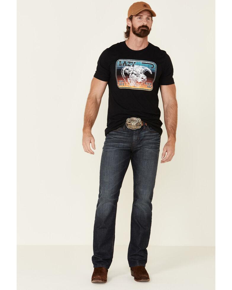 Lazy J Ranch Wear Men's Serape Logo Graphic T-Shirt , Multi, hi-res