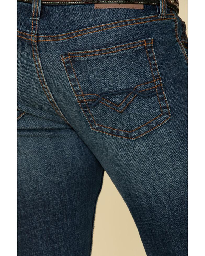 Cody James Core Men's Shindig Dark Thermolite Performance Stretch Slim Bootcut Jeans , Blue, hi-res